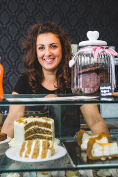 Portrait of Woman Owning a Bakery Business