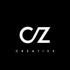 Fototapeta CZ Letter Initial Logo Design Template Vector Illustration obraz