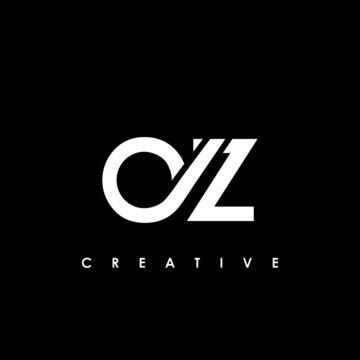 AZ Letter Initial Logo Design Template Vector Illustration