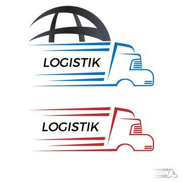 LKW, Spidition, Logostik - Logo, Icon