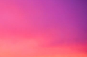 Pink colors of the beautiful sunset (sky background)