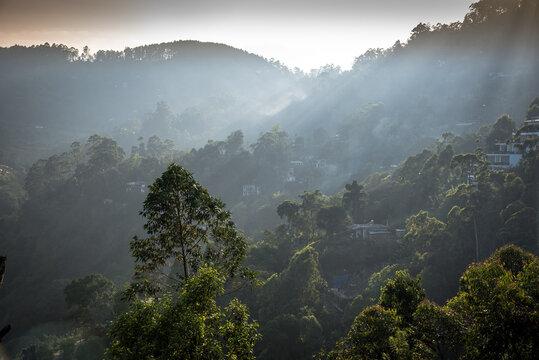 Sri Lanka Berglandschaft