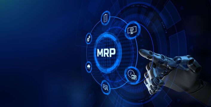 MRP Material Requirement planning Manufacturing Industry Business Process automation.