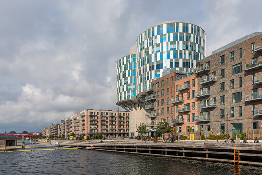Portland Towers is a office building in the North Harbour of Copenhagen