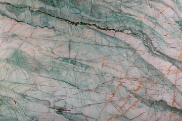 Canvas Prints Marble Emerald - natural polished quarzite stone in green color, photo of slab texture for perfect interior, background or other design project.