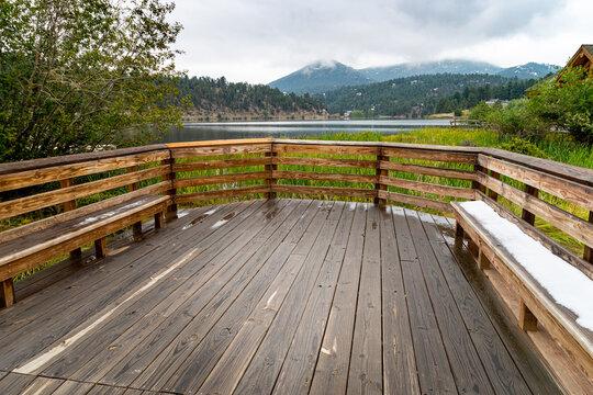 wood dock