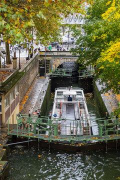 Canal Saint-Martin, Paris