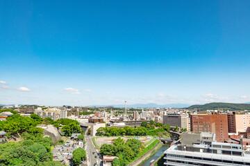Wall Mural - 都市風景 熊本市