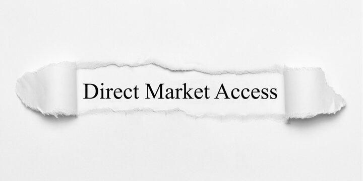 Direct Market Access