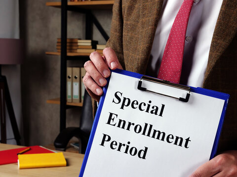 The manager explains about the Special Enrollment Period SEP.