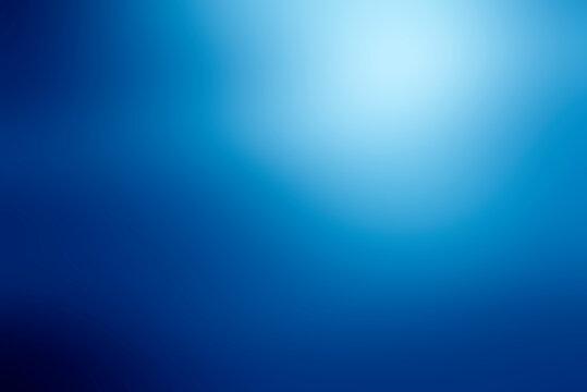 Dark blue gradient abstract blur background
