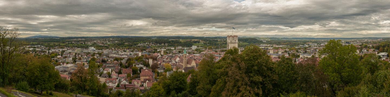 Historische Altstadt Ravensburg in Oberschwaben