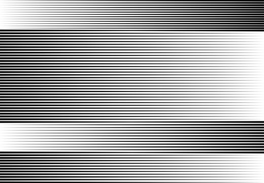 Dark, black grayscale horizontal and vertical fade gradient lines, stripes geometric background, backdrop