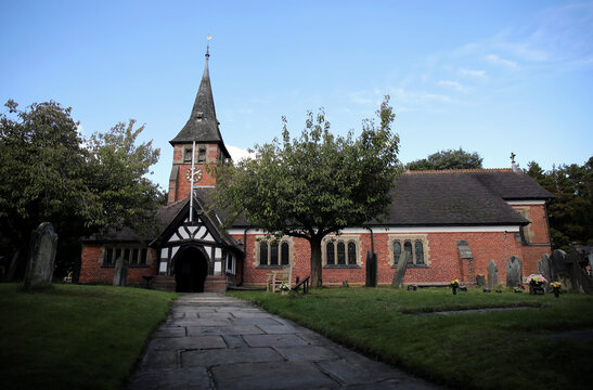 General view of St Mary's Parish Church in Whitegate