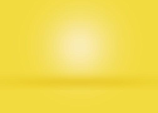 Yellow light gradient background texture,skin tone