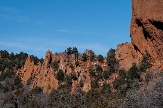 Garden of the Gods in Colorado Springs Red Rocks