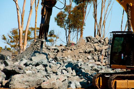 Heavy Duty Industrial Rock Breaker