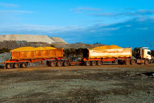 Industrial Road Train - Australia