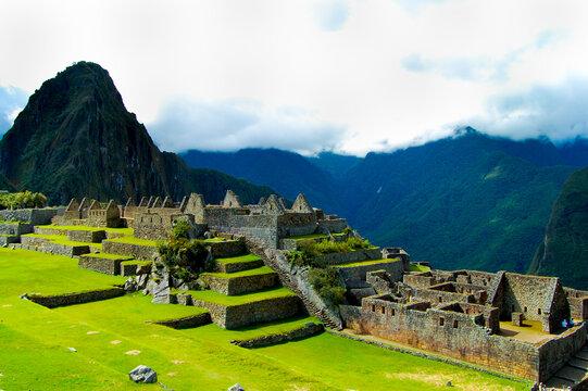 Inca Ruins of Machu Picchu - Peru