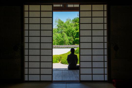 京都 正伝寺(しょうでんじ)の新緑
