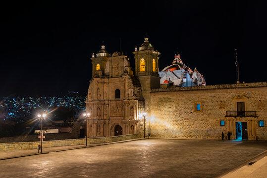 church in Oaxaca City, Mexico