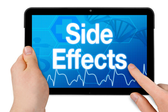 Tablet with medical device and side effects isolated