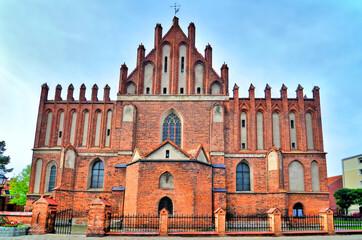 Fototapeta Kościół świętego Jana Chrzciciela w Ornecie. obraz