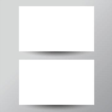 Business card mock up template | Adobe Illustrator