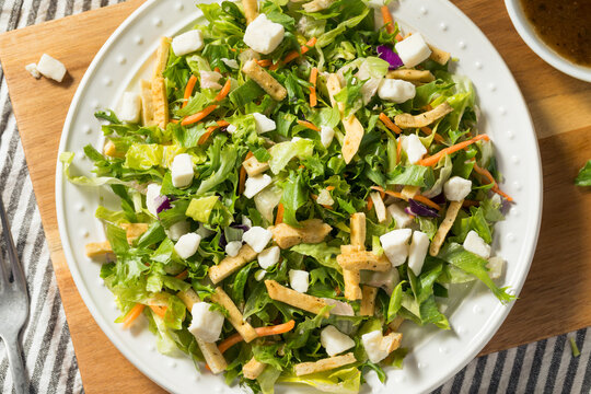 Healthy Greek Balsamic Romaine Salad