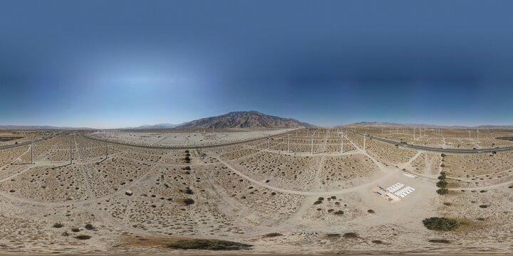 HDRI Landscape 360 Spherical Map, 3D and Post Production, 8K