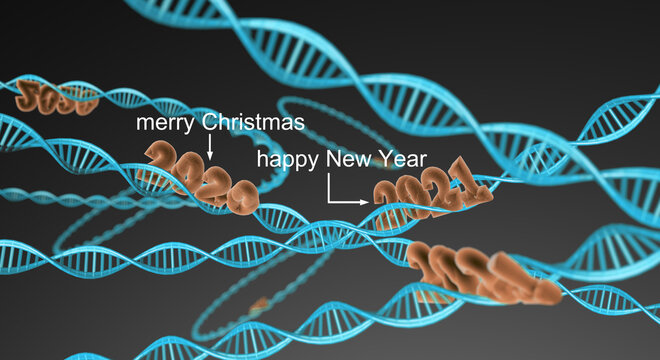 DNA - Merry Christmas - Happy New Year 2