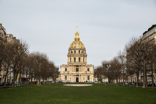 Les Invalides, The National Residence of the Invalids in Paris .