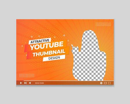 YouTube Thumbnail Design