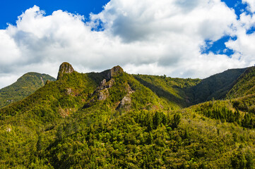Coromandel Pinnacles in the North New Zealand