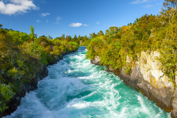 Wakaito River in New Zealand