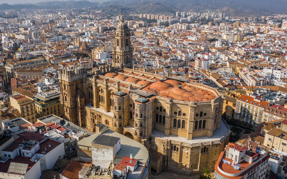 Cathedral of the incarnation in Malaga