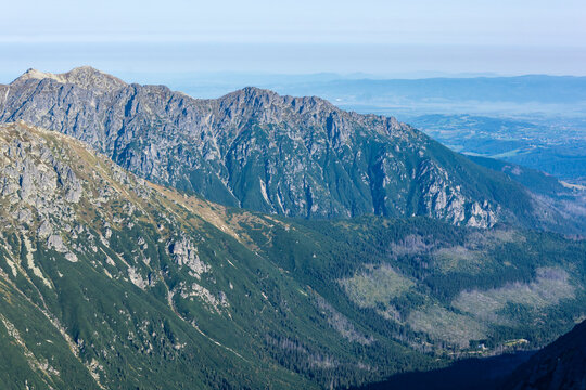 Woloszyn is a mountain massif in the Tatra Mountains in Poland. Nature reserve in Tatra National Park.