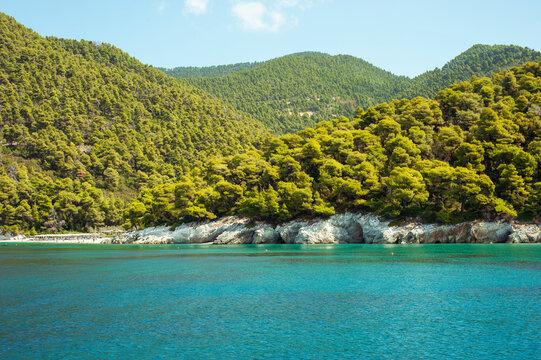 Beautiful Greek Island around Skiathos