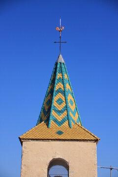 clocher de l'église de Tourrettes