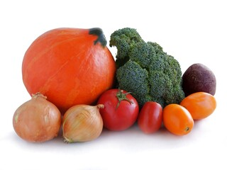 various multicolor vegetables for cooking meals