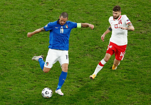 UEFA Nations League - League A - Group 1 - Poland v Italy