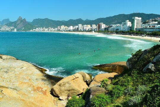 plage d'Ipanema Rio de janeiro