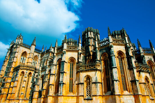 The Batalha Monastery - Portugal
