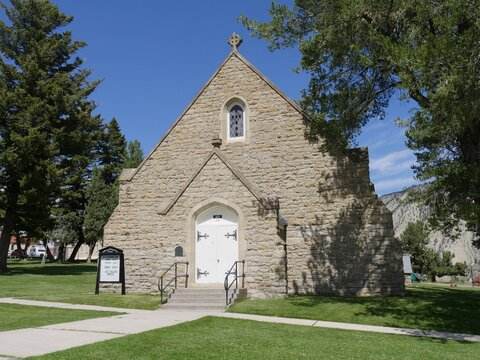 Chapel for interdenominational worship services at the Yellowstone National park, Wyoming.