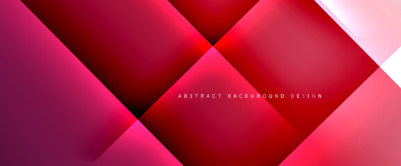 Photo sur Plexiglas Dinosaurs Fluid gradients with dynamic diagonal lines abstract background. Bright colors with dynamic light and shadow effects. Vector wallpaper or poster