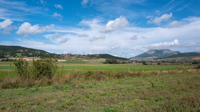 Berge in Umbrien Italien