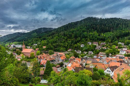 Ortsansicht von Schiltach im Schwarzwald