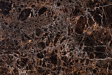 Imperador Gold - polished brown marble stone slab, texture for perfect interior, background or other design project.