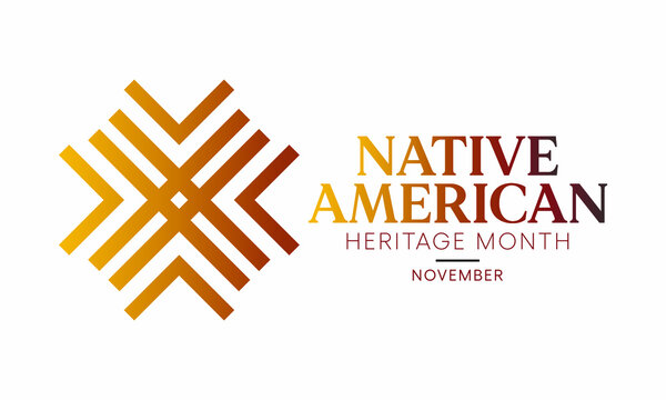 Vector illustration on the theme of Native American heritage month observed each year during November.