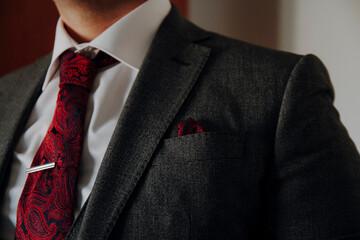 businessman with tie Fotobehang